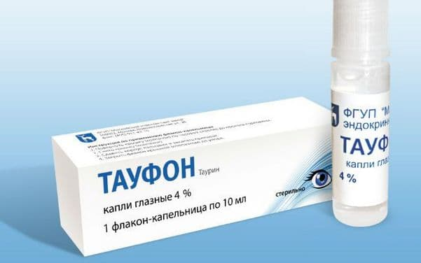Тауфон – капли для глаз: инструкция по применению, показания