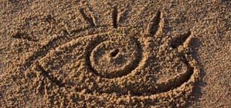 ощущение песка в глазах