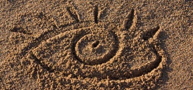 Капли от песка в глазах и сухости