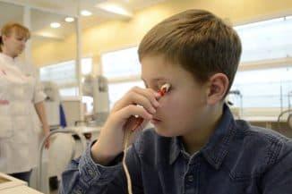 электростимуляция глаз у детей